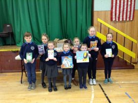 Travelling Books Book Fair at Strabane Primary