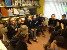 Year 3 interviewed by Radio Foyle - 'Your Place and Mine?'